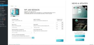 wp-jam-session-settings-page